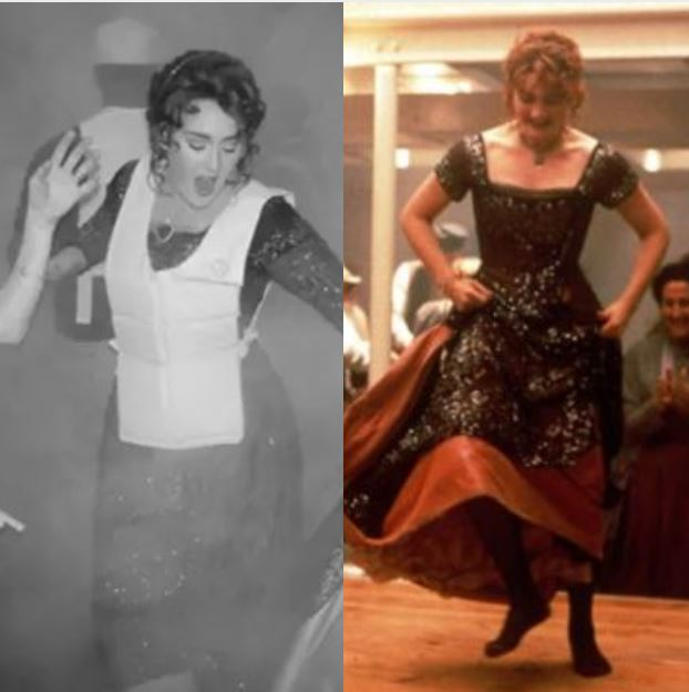 Celebs: Adele celebrated her 30th birthday with a Titanic-themed party and NAILED Rose's look!