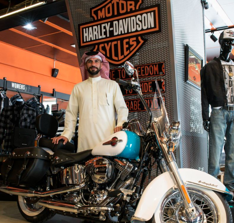 Wheels of Arabia take up the dealership of Harley Davidson