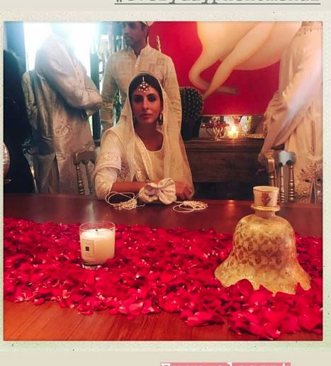 Bollywood: Photos & Videos: Celebs glow in pink & pastels while Sonam glows in red at wedding