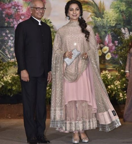 Celebs: IN PICTURES: Sonam Kapoor and Anand Ahuja's wedding reception