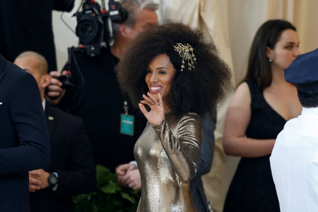 Celebs: PHOTOS: Goddesses, angels and a pope rock Catholic