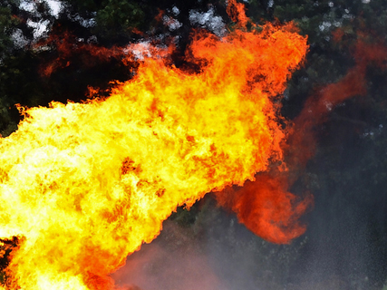 Two Arab children die as flat catches fire