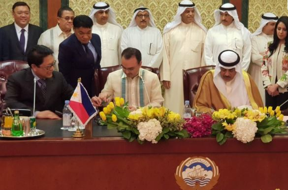 Kuwait, Philippines sign deal to regulate domestic labour