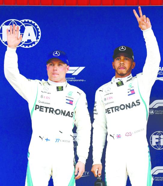 Spanish Grand Prix: Hamilton ends Vettel pole run
