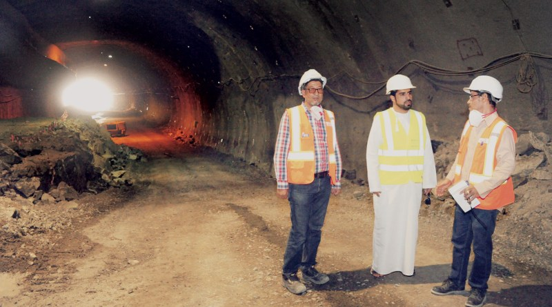 Oman's expressway tunnel project in underway