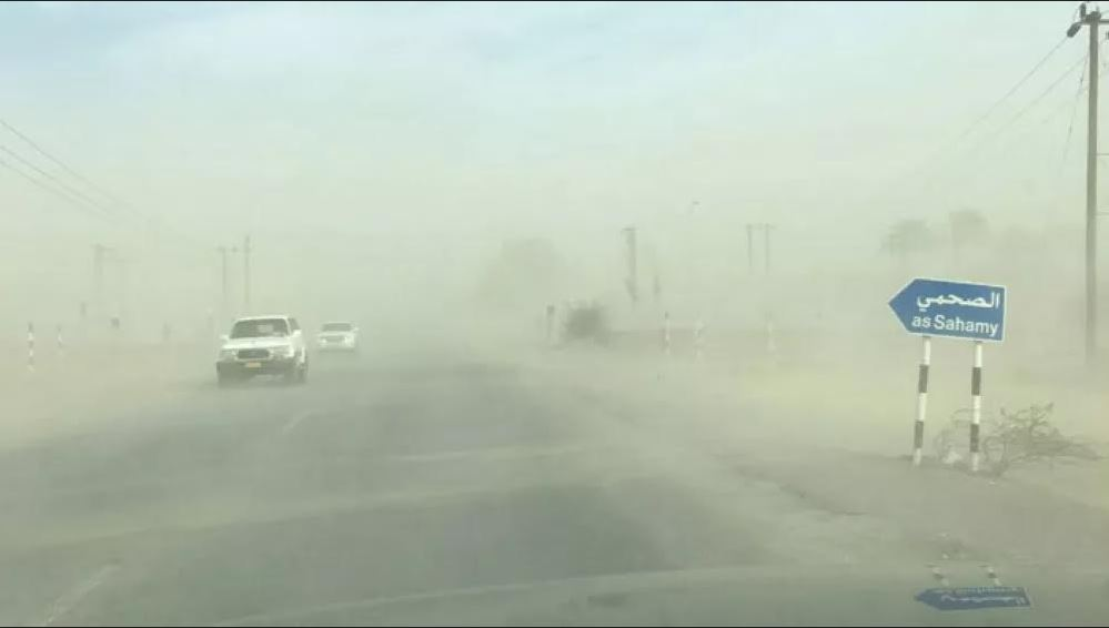 Turbulent weather and sandstorm engulf Oman