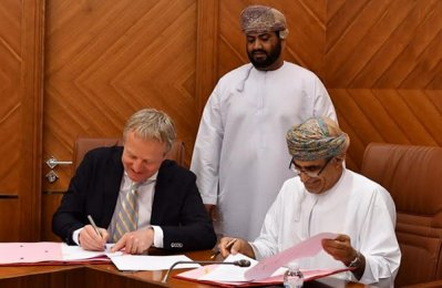 Shell signs energy development contract in Oman
