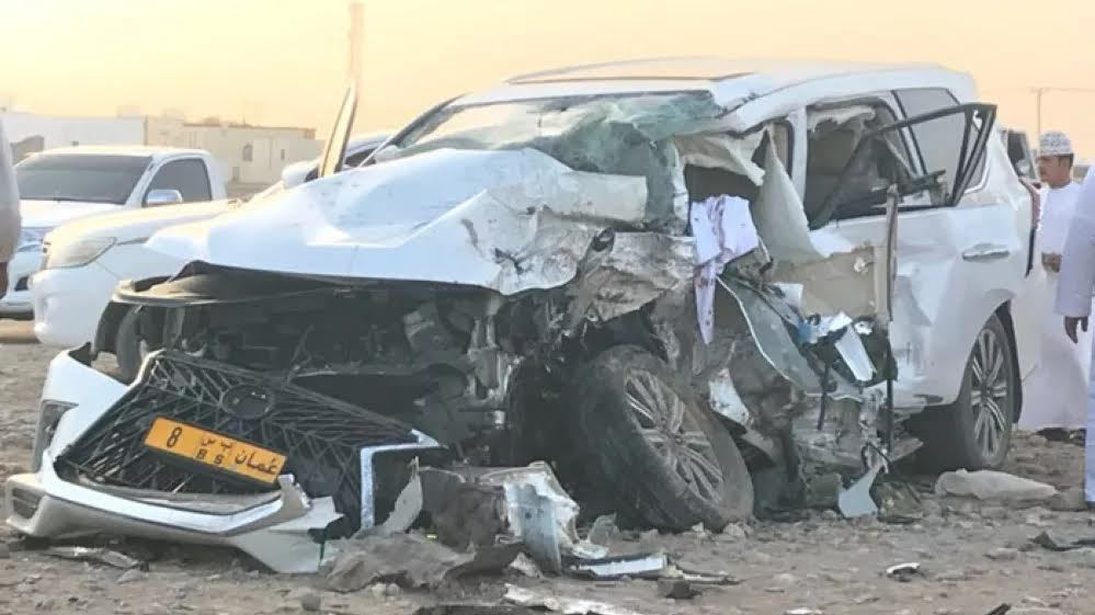 Two Omani nationals killed in head-on collision