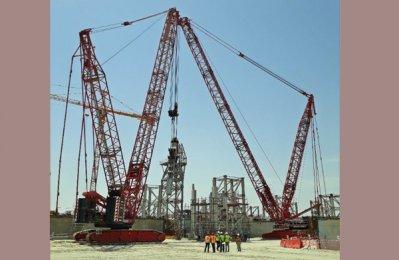 Mammoet wins Kuwait airport construction work