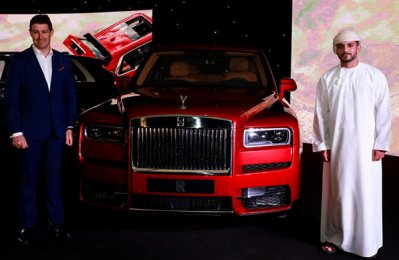 Rolls-Royce's first-ever SUV unveiled in Muscat