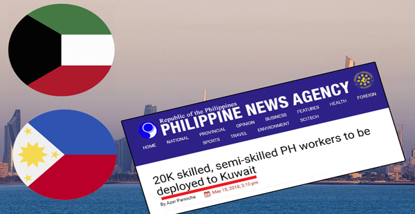 Philippines lifts ban on skilled and semi-skilled workers for Kuwait