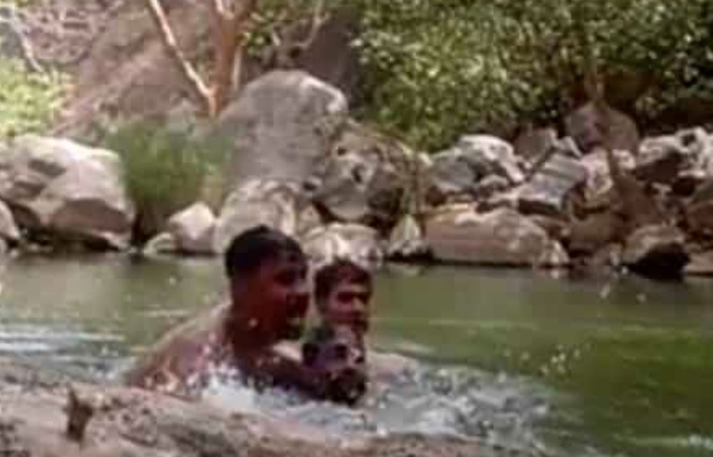 VIDEO: Tragic moment as three Indian men accidentally filmed themselves drowning