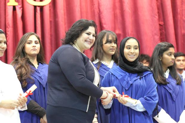 Graduation joy for students