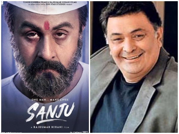 Here's how Rishi Kapoor reacted after watching 'Sanju' trailer