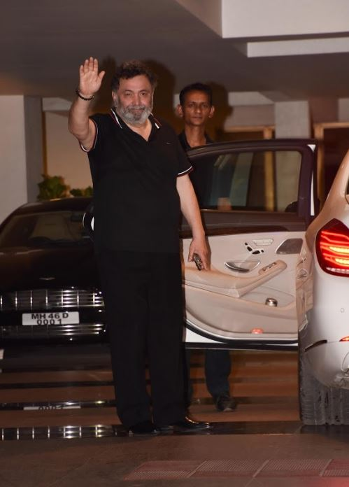 Ravi Shastri celebrates 56th birthday with party in Mumbai