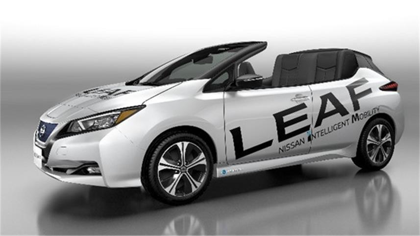 Open-air version of new Nissan LEAF launched