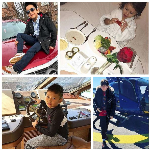 The rich Babies of Instagram flaunt their toys!