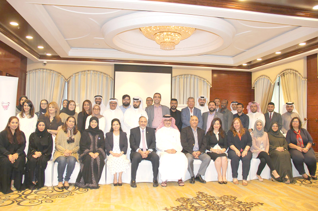 <p>Government entities and media figures from Bahrain and the region took part in two workshops on sustainable development, that concluded yesterday. The National Communication Centre, in co-operation with Thomson Reuters, held the event under the themes 'Forming government speakers on sustainable development' and 'Training media personnel on sustainable development goals.' The workshops aimed to empower the participants and enable them to use objective tools to reflect Bahrain's sustainable development goals. UN Resident Co-ordinator and UNDP Resident Representative in Bahrain Amin El Sharkawi highlighted the UN drive to provide technical expertise to all government and non-government entities and inform them about the integration of sustainable development goals in growth strategies.</p>