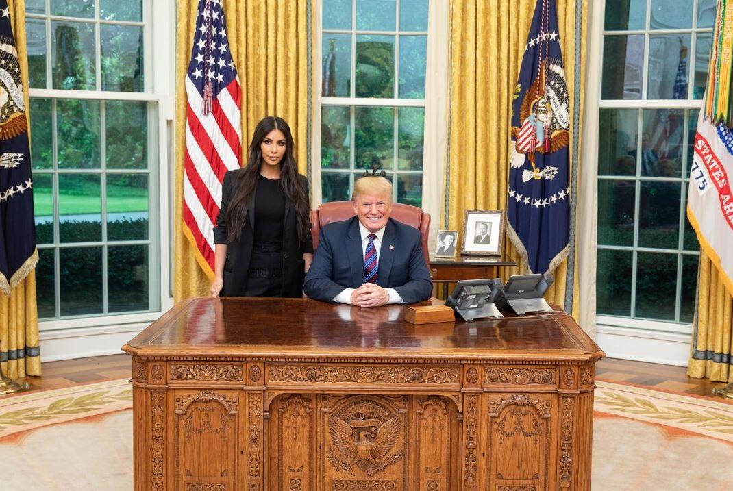 Kim Kardashian West discusses prison reform with Trump
