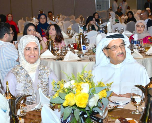 <p><em>Dr Shaikh Mohammed with Dr Al Qassim at the event</em></p><p>The Bahrain Medical Society held an annual Ramadan meeting at ART Rotana, Amwaj Islands.</p><p>Present was event patron Supreme Council of Health chairman Lieutenant General Dr Shaikh Mohammed bin Abdulla Al Khalifa, BMS president Dr Ghada Al Qassim and board members alongside other healthcare officials.</p>