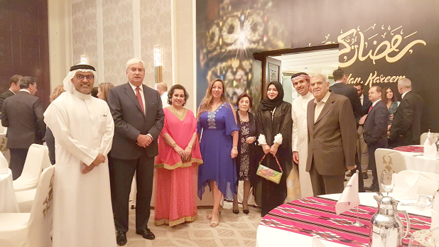 FCCIB board members, management and members at the event