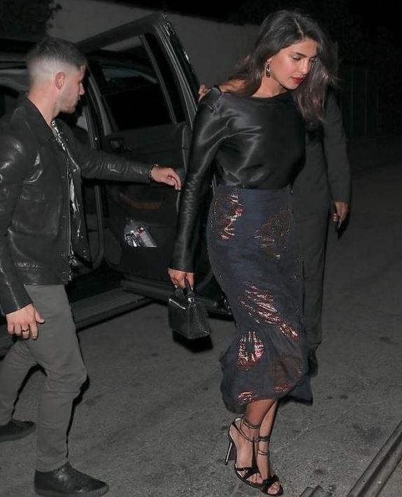 Priyanka Chopra and Nick Jonas out on another date