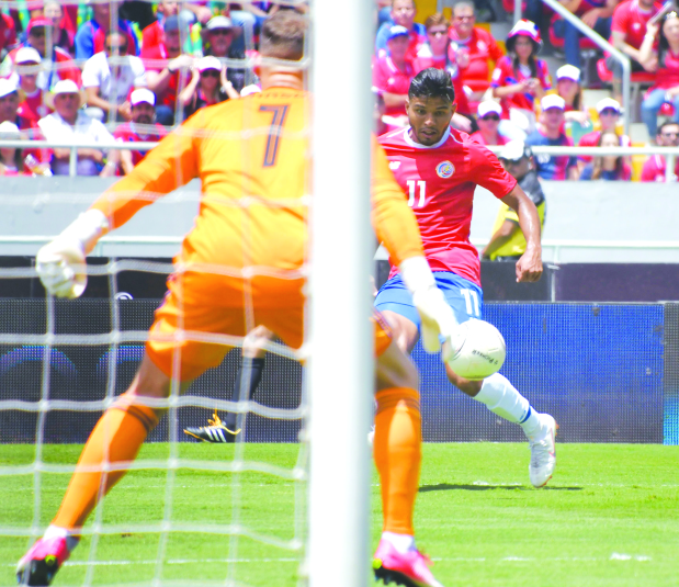Costa Rica crush Northern Ireland