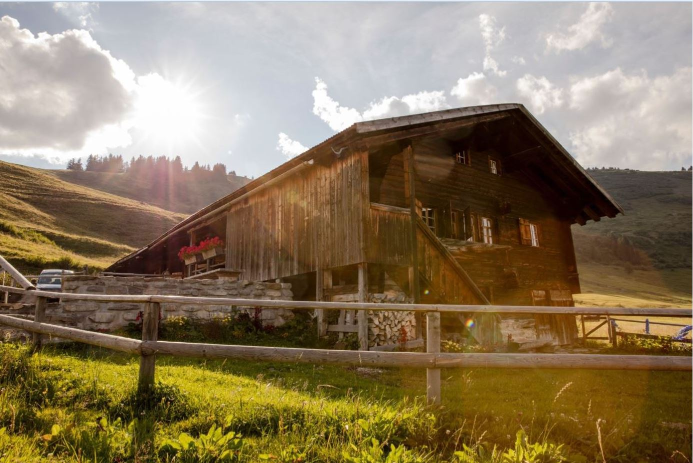 This 200-year-old Swiss alpine hut should be on your bucket list