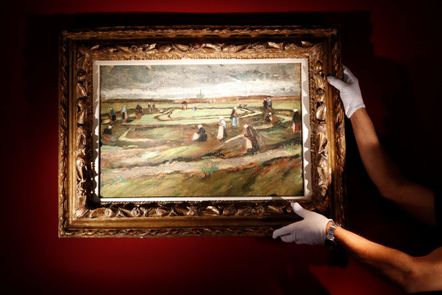 Van Gogh painting sells for over 7 million euros