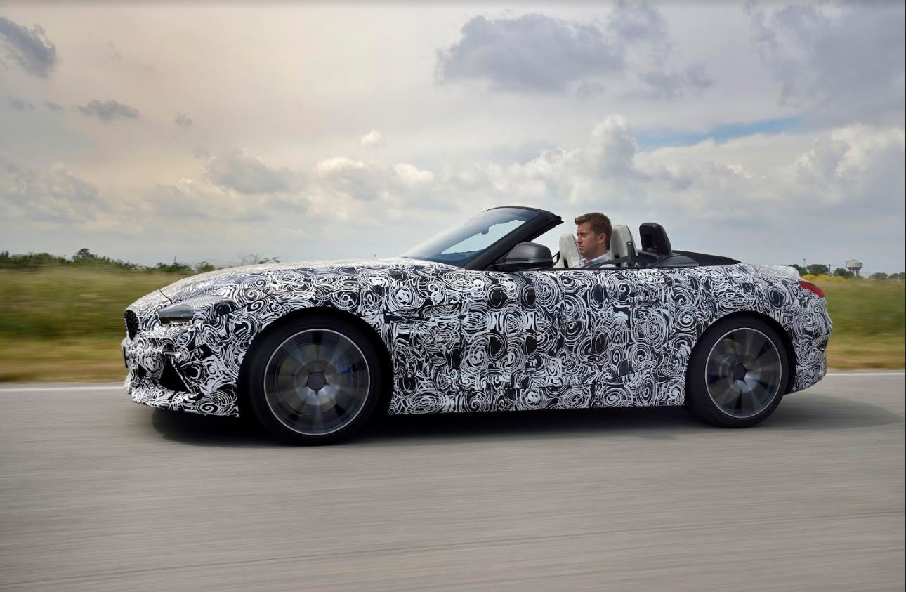 Motoring: The new BMW Z4 undergoes driving dynamics trials