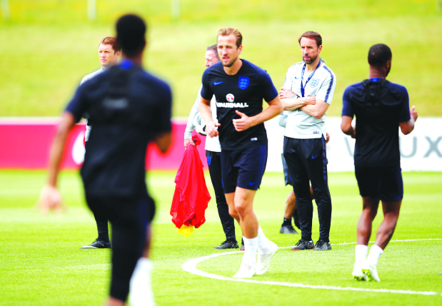 England face Costa Rica in World Cup warm-up