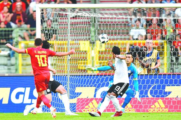 Egypt go down to Belgium