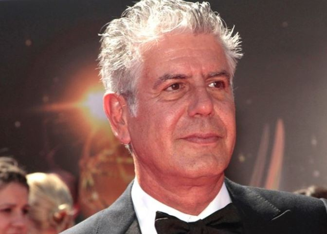 Top celebrity chef and TV host Anthony Bourdain dead at 61