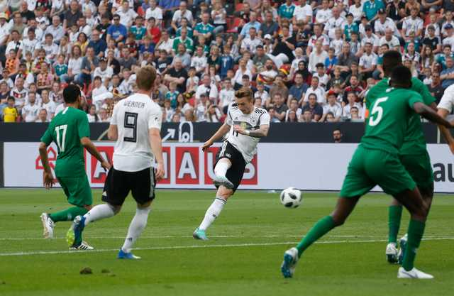 Nervy Germany end winless run