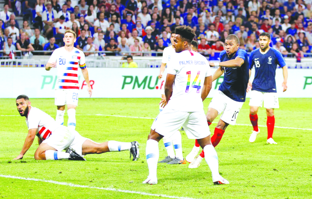 Mbappe salvages a draw for France