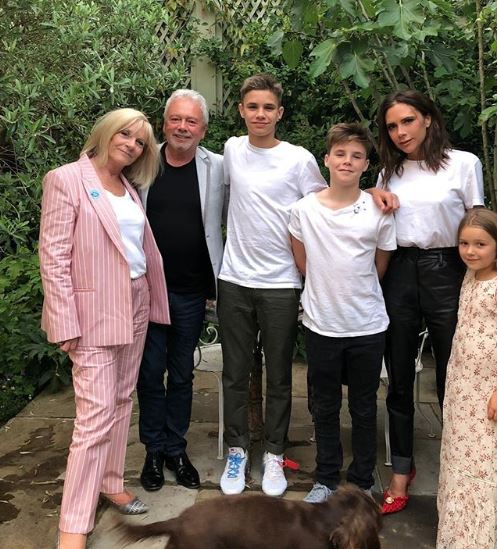 Victoria Beckham shares family photo on Instagram to dismiss divorce rumours