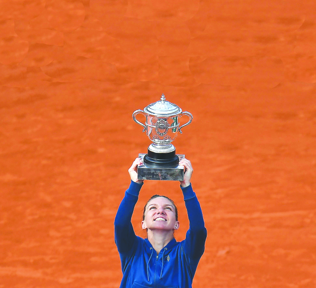 French Open: Halep lifts first Grand Slam title