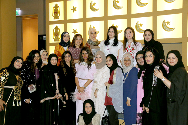 <p><em>Women guests at the </em>ghabga<em>.</em></p><p>A Ramadanghabgawas held by APM Terminals Bahrain for its employees at Downtown Rotana in Manama.</p><div>It featured entertainment, games, quizzes and raffle draws.</div>