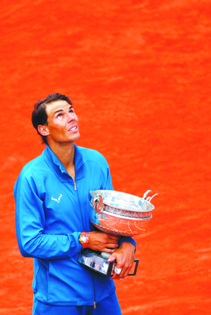 Nadal captures title despite injury scare