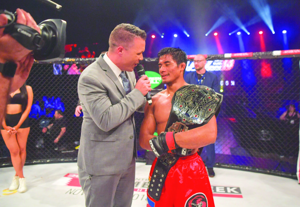 Loman defends Brave bantamweight title