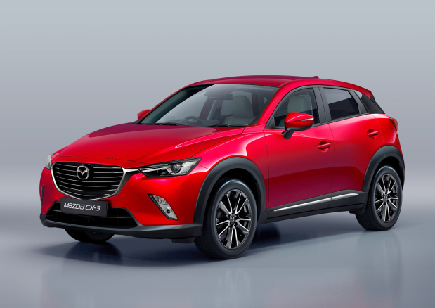 New Mazda CX-3 with Skyactiv technology