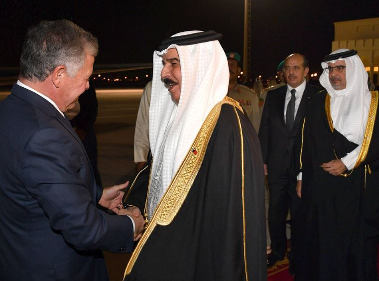Bahrain News: PHOTOS: Jordan offers condolences