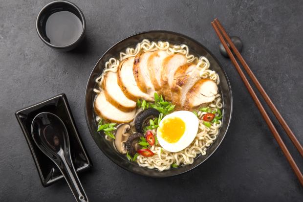 Ramen noodle bowl fiesta at Wok Station