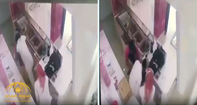 Video: Robbery of a Baskin Robbins store caught on film