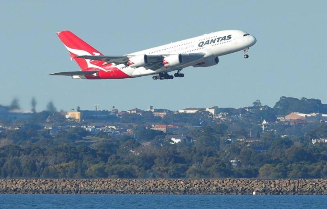 Qantas A380 gets rare 'jolt' from wake turbulence