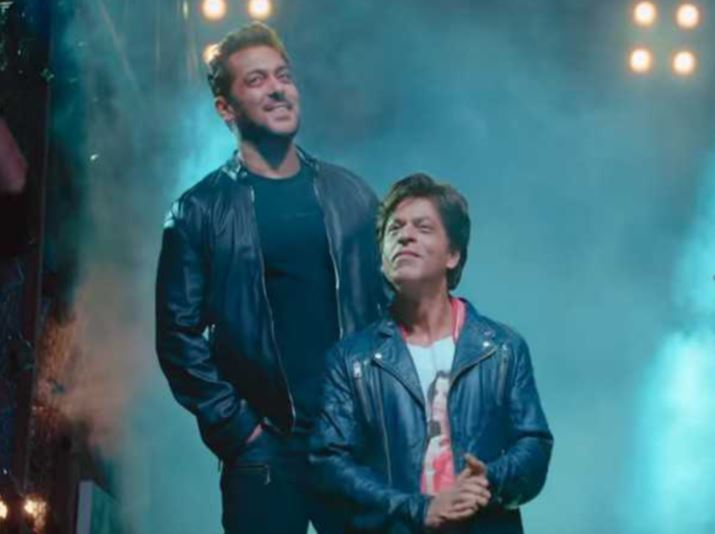 Shah Rukh and Salman Khan get together for the teaser of 'Zero'