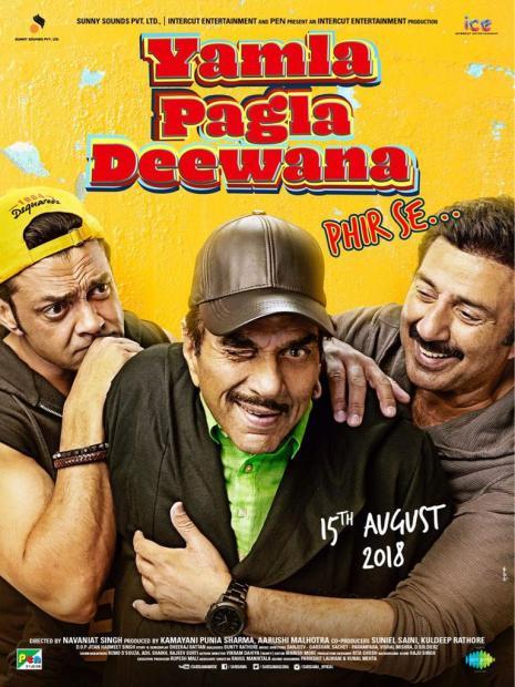'Yamala Pagla Deewana Phir Se' looks like a fun ride