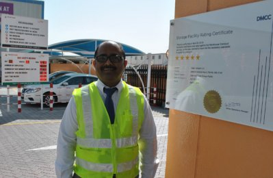 UAE Business: Tristar warehouses win DMCC 5-star rating
