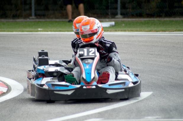 Bahrain karters shine