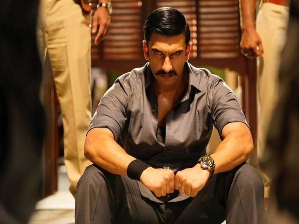 Ranveer plays a fierce cop in 'Simmba'